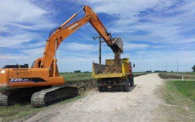 Realizan trabajos de mejoramiento en Santa Luisa y Durañona