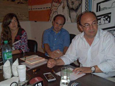 Salomón se reunió con autoridades del INTA
