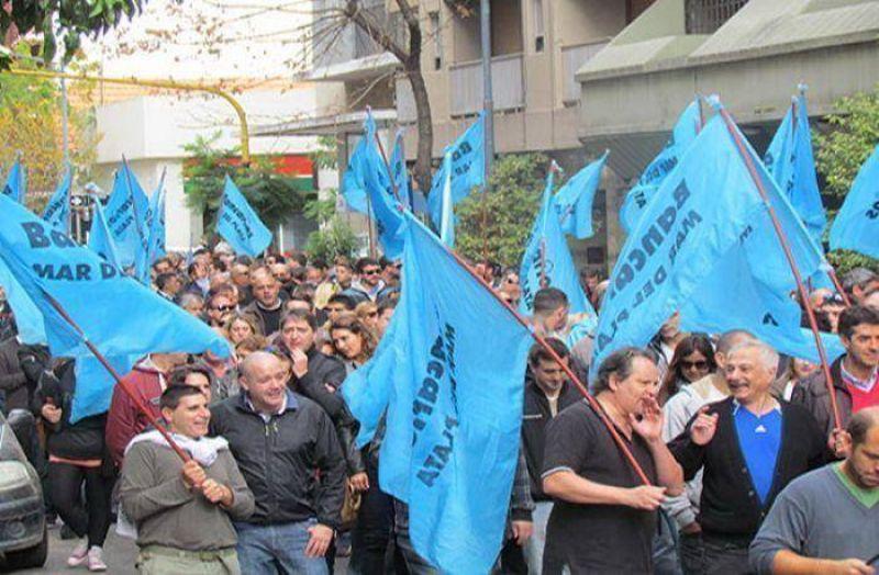 Trabajadores bloquear�n el Banco Central en Mar del Plata