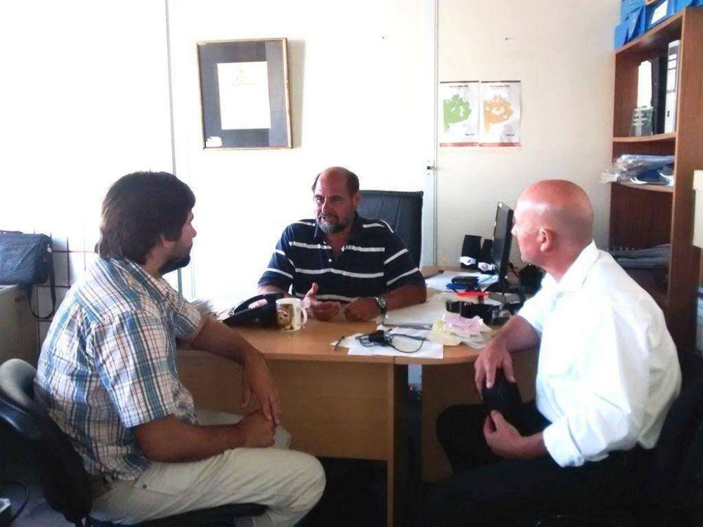 El equipo de Producción se reunió con Francisco Luna, Director Provincial de Producción