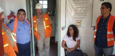 Posta sanitaria y un destacamento policial para Minas Capillitas