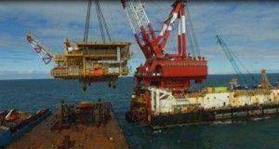 Todo un hito: Comenz� la producci�n de gas en el yacimiento offshore Vega Pl�yade