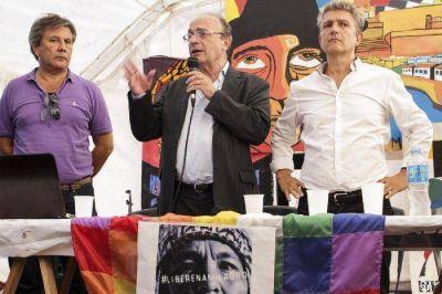 """Leopoldo Moreau y Gustavo López le hablarán al """"pueblo"""" en Mar del Plata"""