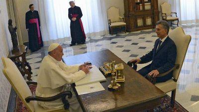 Mauricio Macri invitó a Francisco a la Argentina: el Papa dijo que este año no podrá pero que viajará