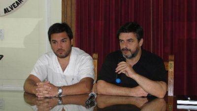 CONFERENCIA DE PRENSA DEL SECRETARIO DE GOBIERNO DR. GARAVENTA Y DEL DIRECTOR DEL HOGAR DE ANCIANOS DR. KRABER