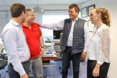 Intendente del FpV se reunió con Massa
