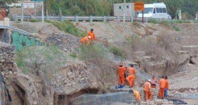 Trabajan intensamente en la ruta 52 tras los daños
