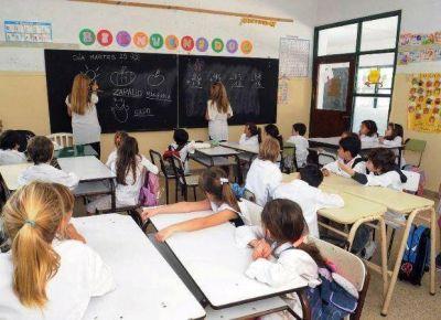 Ciento veinte mil chicos inician las clases en toda la provincia