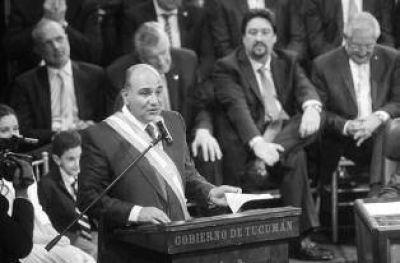 """El oficialismo se moviliza para """"arropar"""" al gobernador Manzur"""