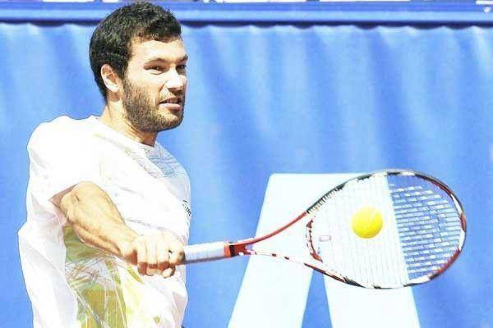 Acasuso tiene un duro desafío ante Federer.