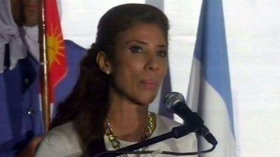 La gobernadora inaugura remodelaci�n de la T�cnica 3 en el inicio del ciclo lectivo