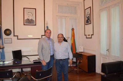 El Intendente dialog� con el Inspector Jefe Regional de DIPREGEP