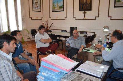 El Director Provincial de Consorcios de Gesti�n se reuni� con el Intendente