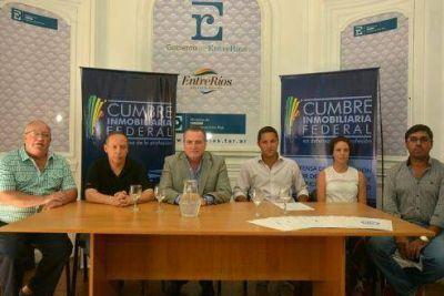 Este jueves Paraná será sede de la Cumbre Inmobiliaria Federal