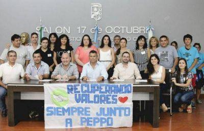 Peppo sigue sumando apoyo para presidir el PJ