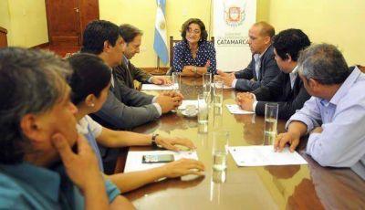 Lucía se comprometió a trabajar junto a los concejales capitalinos