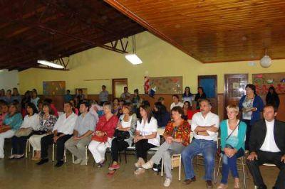 Se realizó el acto formal de inauguración del ciclo lectivo en la Escuela Primaria 66