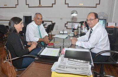 Cecilia Bustamante fue presentada como Inspectora Jefe Distrital