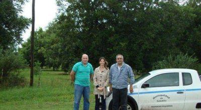 Funcionarios de Desarrollo Local visitaron emprendimientos productivos en Polvaredas