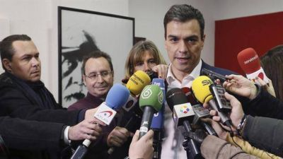 Él o Rajoy, el planteo final de Sánchez