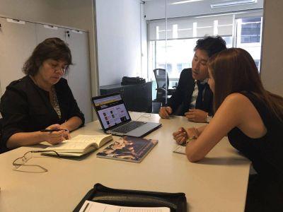 La directora provincial de Acción Cultural se reunió con Nación