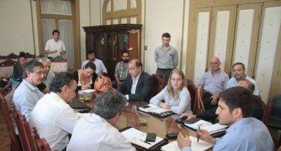 Pullaro recibió a los integrantes de la Comisión de Seguridad Pública