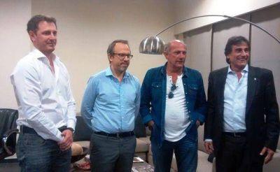 Valenzuela y Jofré se reunieron en el Sindicato de Empleados de Comercio