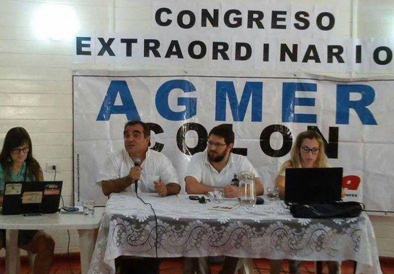 El congreso de Agmer resolvió por unanimidad asistir a la audiencia de conciliación