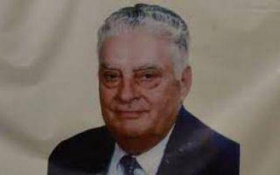 Baradero: Homenaje al exintendente Pedro Carossi