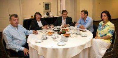 Gutiérrez recibió a legisladores del MPN
