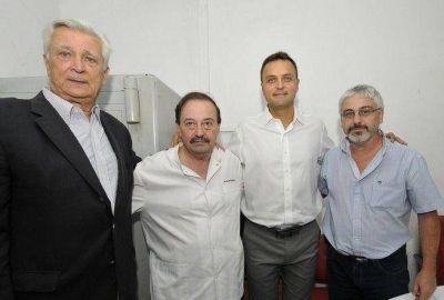 """Un ivoskista asumió en el Belgrano mientras Vidal prometía """"un plan de saltavaje"""" para el hospital"""