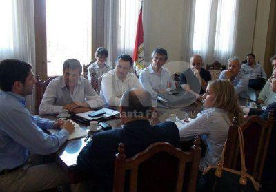 Valoraron como �muy positivo� el encuentro entre la Comisi�n de Seguridad y el ministro Pullaro