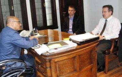 El intendente se reunió con el fiscal general de Mar del Plata