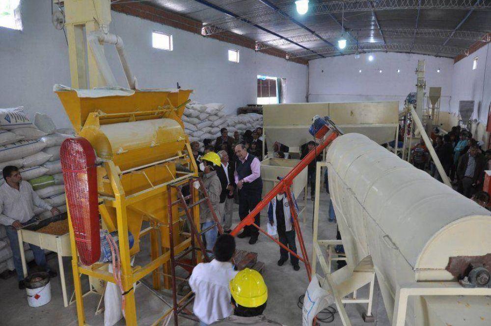 Inauguraron primera empresa del Parque Industrial de Perico