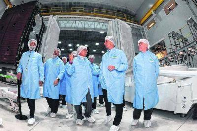 Llega la NASA a trabajar con Invap