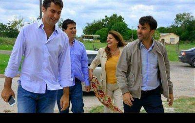 CASTELLI: ECHARREN RECIBIÓ AL VICE PRESIDENTE DE LA CAMARA DE DIPUTADOS MANUEL MOSCA