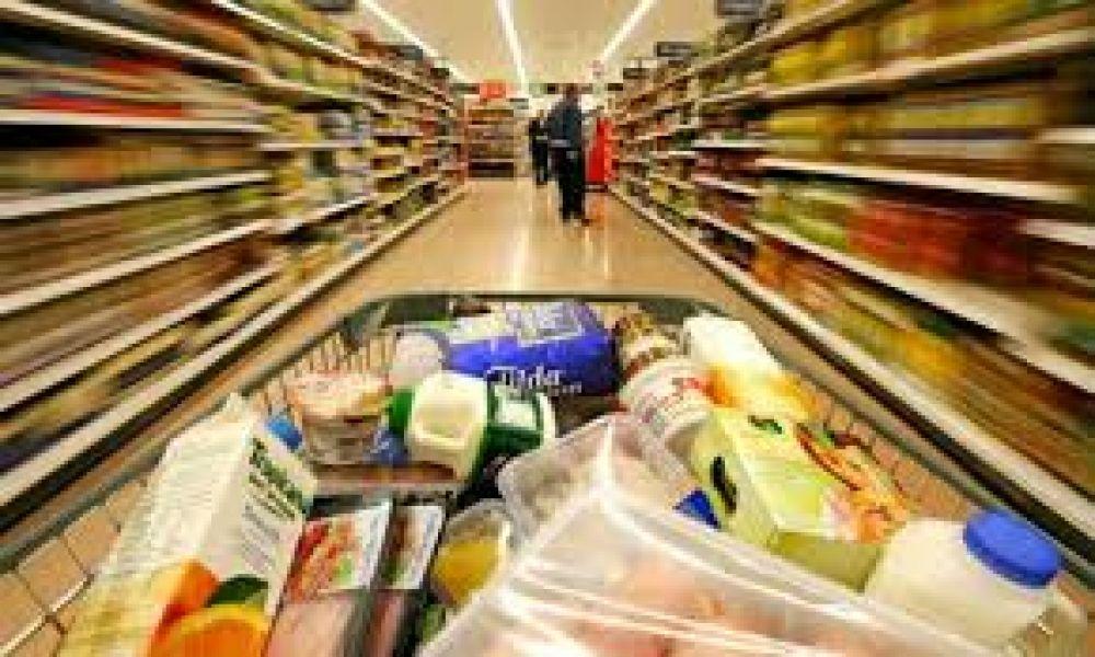 Precios en supermercados permiten estimar que en febrero la inflación fue del 3%