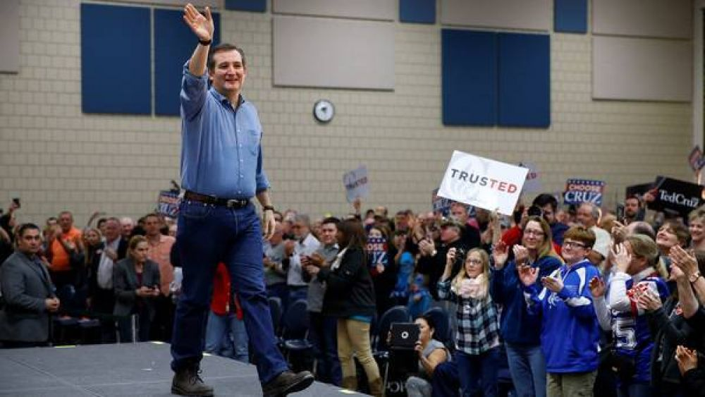 EE.UU.: Ted Cruz se consolida como la opción para frenar a Trump