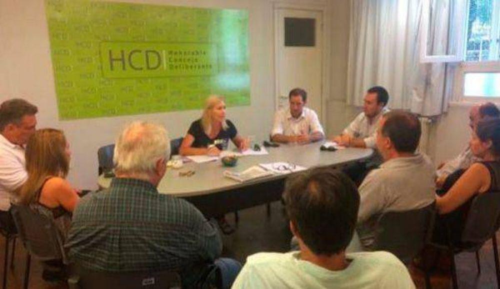 Concejales recibieron a la Diputada Liliana Schwindt por la Ley de Tarifa de Interés Social