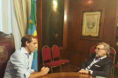 Yans visitó a Julio Garro y acordó trabajar en políticas de seguridad