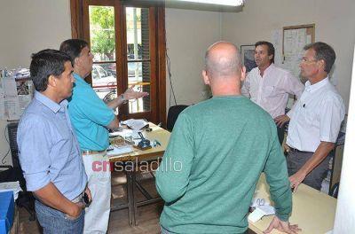 Gerardo Coronel fue presentado como nuevo delegado del PAMI Saladillo