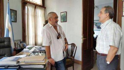 Juan Manuel Rapacioli mas feliz que perro con dos colas luego del encuentro con Guillermo Moreno