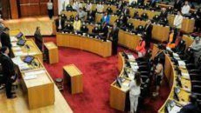 Legisladores reciben a José Cano y a los ternados para la Defensoría