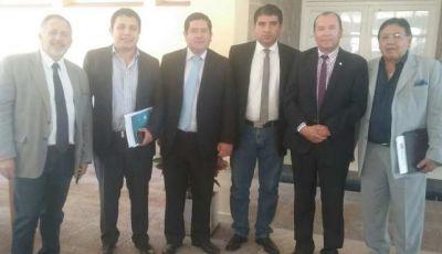 Catamarca, La Rioja y Córdoba reunidos por el Corredor Bioceánico Ferroviario