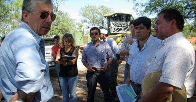 Fiscalía de Estado de la provincia realizó operativo por desmontes ilegales en el Dpto. Sarmiento
