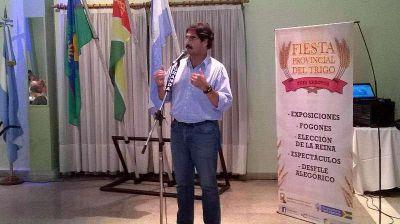 Sarquís ratificó la creación de la Mesa Provincial del Trigo