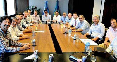 Galli particip� de un encuentro con Jorge Macri en el Grupo Banco Provincia