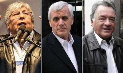 Moyano, Caló y Barrionuevo volverán a encabezar una reunión de las tres CGT