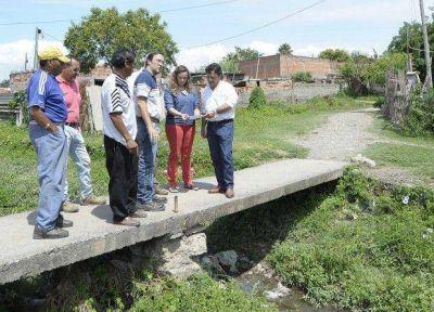 Sáenz declaró la emergencia hídrica en la ciudad