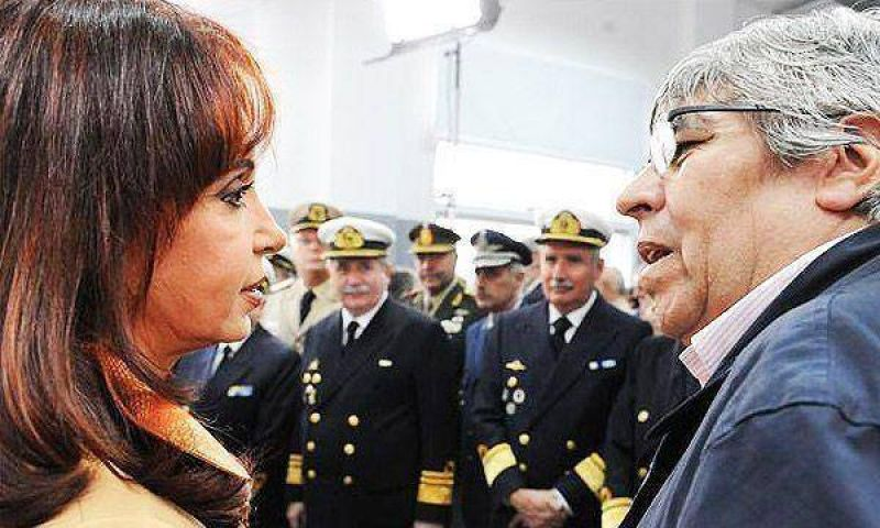 La Presidente y Moyano, en una reunión con mucho hermetismo